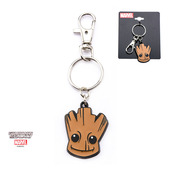 Stainless Steel GOTG Groot Key Chain