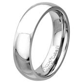 Plain Polished 6mm Wide Cobalt Chrome Ring