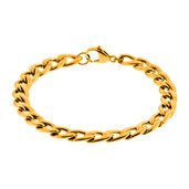 Gold IP Curb Chain Bracelet 5.6mm