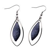Diamond Dust Hook Dangle earrings
