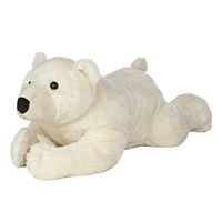 "30"" POLAR BEAR LYING - JUMBO picture"