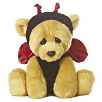 """9"""" WOE BEAR LADY BUG picture"""