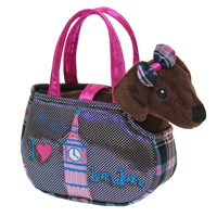 "8"" ROXIE LONDON PET CARRIER picture"
