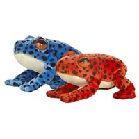 "8"" POISON DARK FROG ASST. picture"