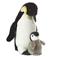 """15"""" EMPEROR PENGUIN AND CHICK picture"""