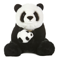 "14"" PANDA WITH CUB picture"