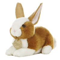 "8"" BROWN BUNNY - SMALL picture"