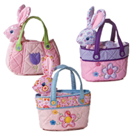 "8"" SPRINGTIME PET CARRIER picture"