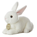 "8"" WHITE BUNNY - SMALL"