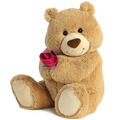 "20"" YOU MAKE ME HAPPY BEAR - LRG"