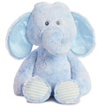 "17"" HUGGIE BABY ELEPHANT - BLUE - L"