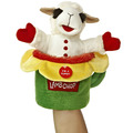 "10"" LAMB CHOP POP UP PUPPET"