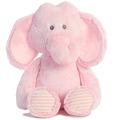 "17"" HUGGIE BABY ELEPHANT - PINK - L"