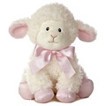 "12"" BLESSING LAMB PINK MUSICAL"