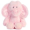 "11"" HUGGIE BABY ELEPHANT - PINK"