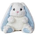 "10"" LOPSIE WOPSIE BABY BUNNY BLUE -"