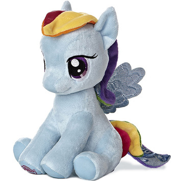 "10"" RAINBOW DASH - SEATED picture"