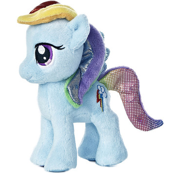 "6.5"" RAINBOW DASH picture"