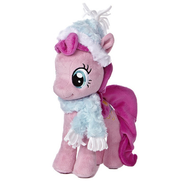 "10"" PINKIE PIE WITH FUZZY HAT & SCARF picture"