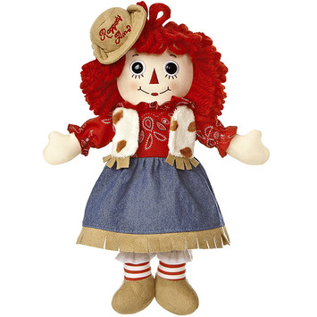 "12"" RAGGEDY ANN WESTERN picture"