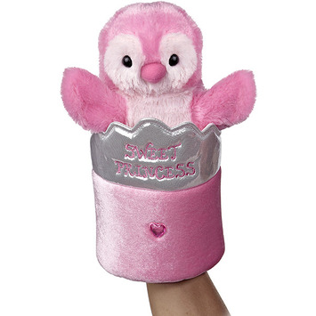 "11"" PINK PENGUIN POP UP PUPPET picture"