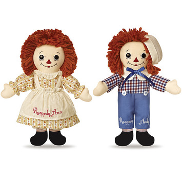 "12.5"" LTD.ED.RAGGEDY ANN-ANDY BOXED picture"