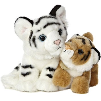 "12"" WHITE TIGER AND BENGAL TIGER CU picture"