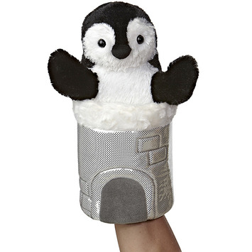 "11"" PENGUIN POP UP PUPPET picture"