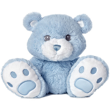 "10"" BABY TADDLES BEAR - BLUE picture"