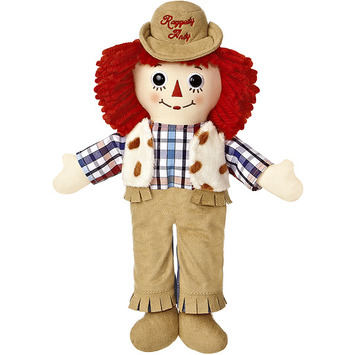 "12"" RAGGEDY ANDY WESTERN picture"