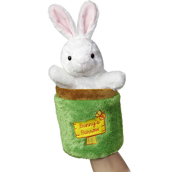 "11"" BUNNY POP UP PUPPET picture"