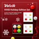 VIVID - Holiday 4 Ball Pack