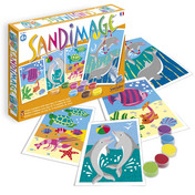 Sandimage Fishes & Dolphins