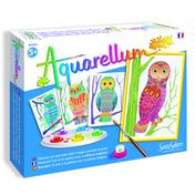 Aquarellum Jr Owls