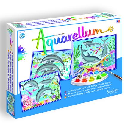 Aquarellum Dolphins picture
