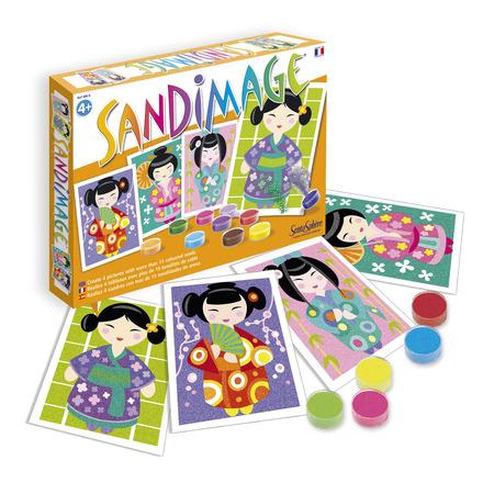 Sandimage Kokeshi Dolls picture