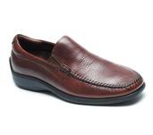 Rome Venetian Comfort Slip On in Walnut Leather