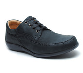 Williams Comfort Lace-Up Black Leather