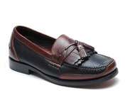 Murphy Tassel Loafer Black/Gaucho