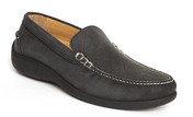Hemingway Venetian Loafer in Smoke Nubuck