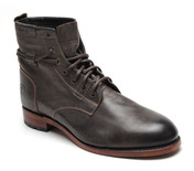 Dawson 7 Eyelet Boot in Vintage Brown Leather