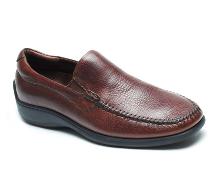 Rome Venetian Comfort Slip On in Walnut Leather picture