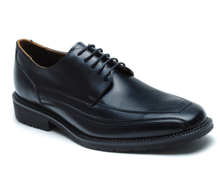 Seattle Comfort Lace Oxford in Black Leather