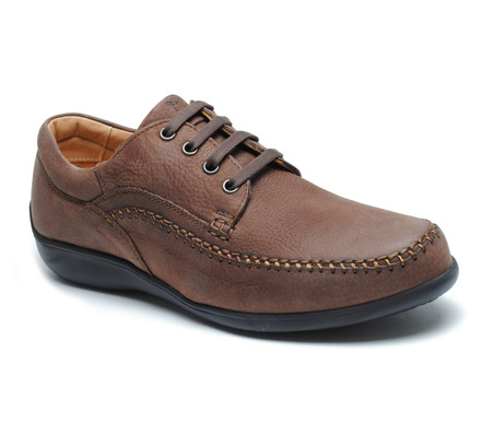 Williams Comfort Lace-Up Coffee Brown picture