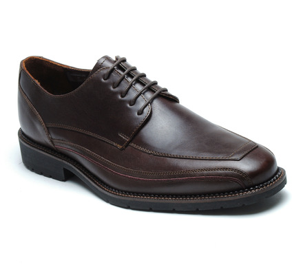 Seattle Comfort Lace Oxford in Brown Leather