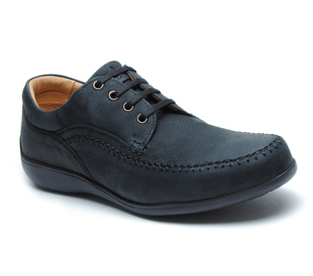 Williams Comfort Lace-Up Black Leather picture