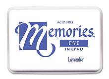 Memories Ink Pad - Lavender picture