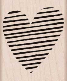 Striped Heart picture