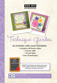Technique Garden Video DVD picture