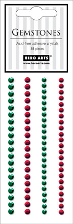 Red & Green Gemstones picture